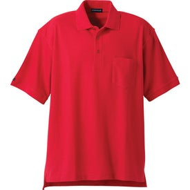 Imprinted Orson Short Sleeve Polo Shirt by TRIMARK