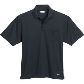 Imprinted Pico Short Sleeve Polo with Pocket by TRIMARK