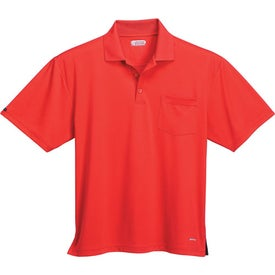Pico Short Sleeve Polo with Pocket by TRIMARK for Promotion