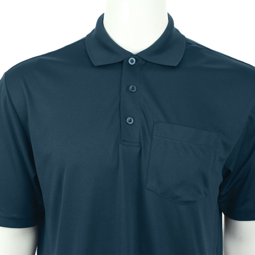 Pico short sleeve polo with pocket by trimark men 39 s for Quality polo shirts with company logo