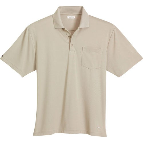Pico Short Sleeve Polo with Pocket by TRIMARK