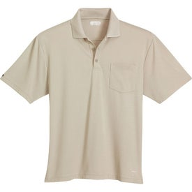 Customized Pico Short Sleeve Polo with Pocket by TRIMARK