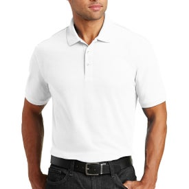 Port Authority Core Classic Pique Polo Shirt (Men's, White)