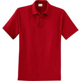 Port and Company 6.1-Ounce Jersey Knit Sport Shirt Imprinted with Your Logo