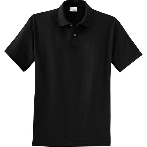 Promotional port and company 6 1 ounce jersey knit sport for Corporate polo shirts with logo