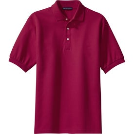Monogrammed Port Authority 100% Pima Cotton Sport Shirt