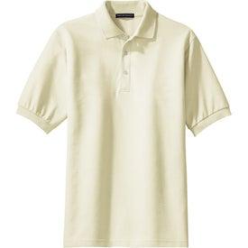 Imprinted Port Authority 100% Pima Cotton Sport Shirt