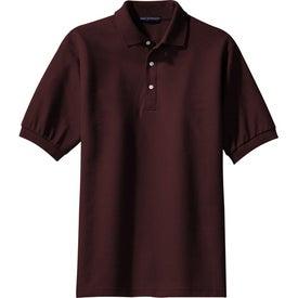 Customized Port Authority 100% Pima Cotton Sport Shirt