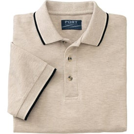 Cool Mesh Sport Shirt with Tipping Stripe Trim Giveaways