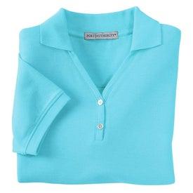 Promotional Port Authority Ladies 100% Pima Cotton Sport Shirt