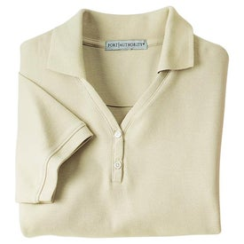 Company Port Authority Ladies 100% Pima Cotton Sport Shirt