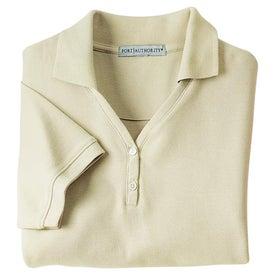 Company Port Authority Ladies 100% Pima Cotton Sport Shirt