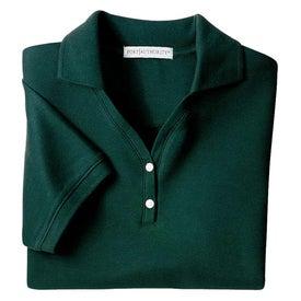 Customized Port Authority Ladies 100% Pima Cotton Sport Shirt