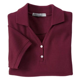 Port Authority Ladies 100% Pima Cotton Sport Shirt for Advertising