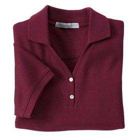 Port Authority Ladies 100% Pima Cotton Sport Shirt for Advertising