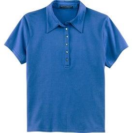 Port Authority Ladies Pima Cotton Fine Knit Sport Shirt for Advertising