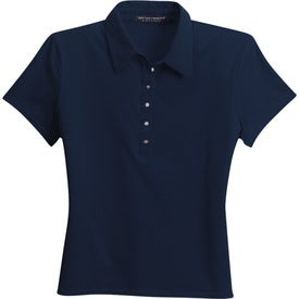 Customized Port Authority Ladies Pima Cotton Fine Knit Sport Shirt