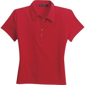 Monogrammed Port Authority Ladies Pima Cotton Fine Knit Sport Shirt