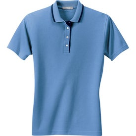 Port Authority Ladies Pinpoint Knit Sport Shirt for Your Company