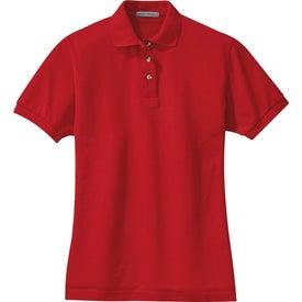 Imprinted Port Authority Ladies Pique Knit Sport Shirt