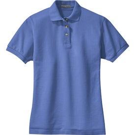 Personalized Port Authority Ladies Pique Knit Sport Shirt