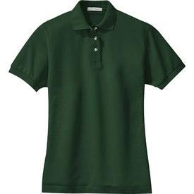 Monogrammed Port Authority Ladies Pique Knit Sport Shirt
