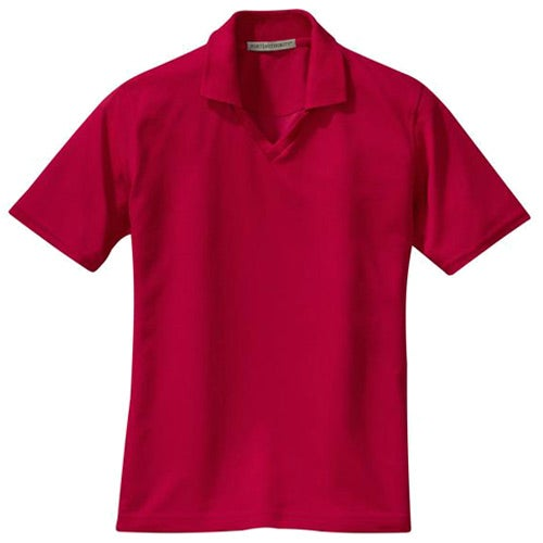 Port authority signature ladies rapid dry sport shirt for Quality polo shirts with company logo