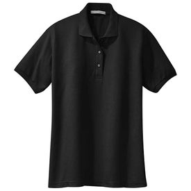 Port Authority Ladies Silk Touch Sport Shirt Imprinted with Your Logo