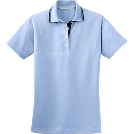 Customized Port Authority Ladies Rapid Dry Sport Shirt w/ Contrast Trim