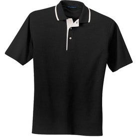 Port Authority Pinpoint Knit Sport Shirt Branded with Your Logo