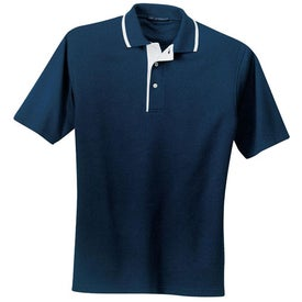 Customized Port Authority Pinpoint Knit Sport Shirt