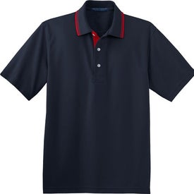 Port Authority Rapid Dry Sport Shirt with Contrast Trim for Advertising