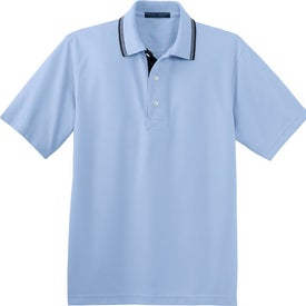 Customized Port Authority Rapid Dry Sport Shirt with Contrast Trim