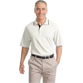 Printed Port Authority Rapid Dry Sport Shirt with Contrast Trim