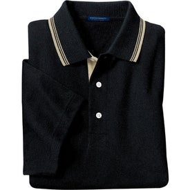 Port Authority Rapid Dry Sport Shirt with Contrast Trim