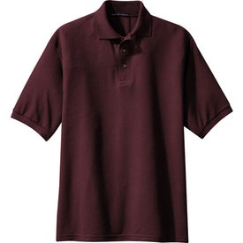 Monogrammed Port Authority Silk Touch Sport Shirt