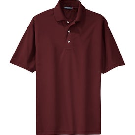 Branded Port Authority Silk Touch Sport Shirt