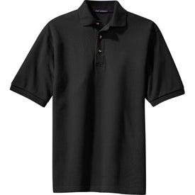Port Authority Tall Pique Knit Sport Shirt