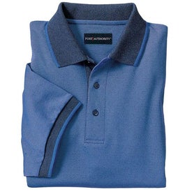 Port Authority Twill Sport Shirt with Stripe Trim for your School