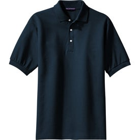Imprinted Port Authority Signature Pima Cotton Fine Knit Sport Shirt