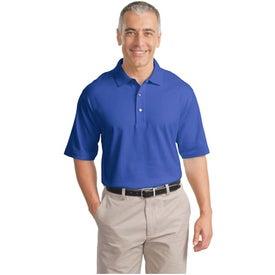 Branded Port Authority Signature Pima Cotton Fine Knit Sport Shirt