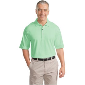 Port Authority Signature Pima Cotton Fine Knit Sport Shirt Branded with Your Logo