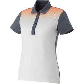 Puma Glitch Knit Stretch Polo Shirt by TRIMARK (Women's)