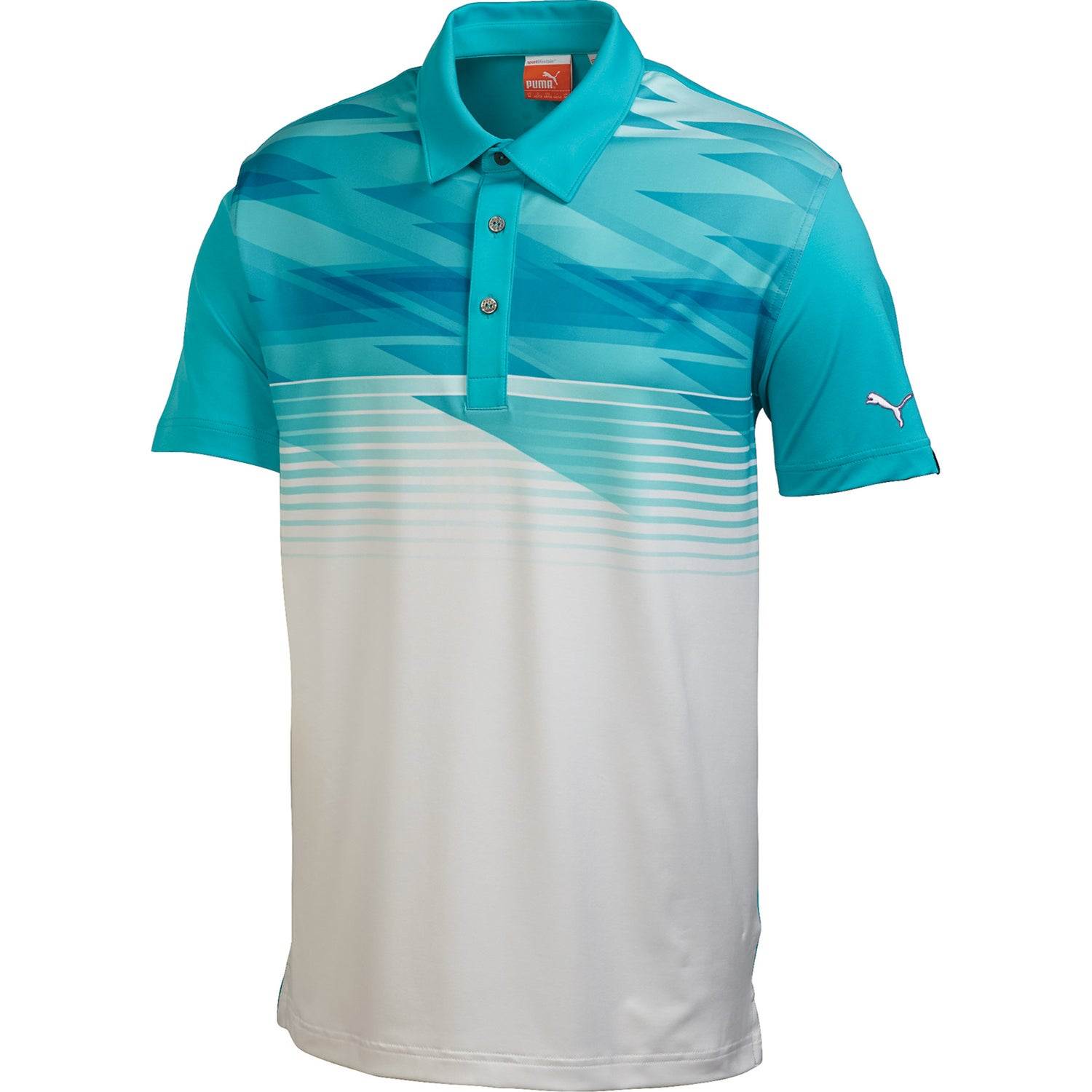 company puma golf indigital polo shirt by trimark