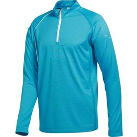 Puma Golf 1/4 Zip Long Sleeve Polo Cresting Shirt by TRIMARK for Your Company
