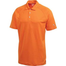 Advertising Puma Golf Raglan Tech Crest Short Sleeve Polo Shirt by TRIMARK