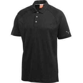 Puma Golf Raglan Tech Crest Short Sleeve Polo Shirt by TRIMARK for Your Company