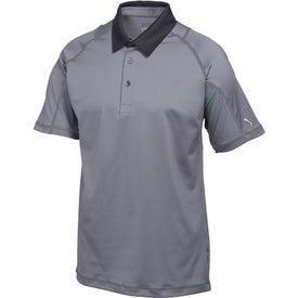 Puma Titan Tour Knit Stretch Polo Shirt by TRIMARK (Men's)