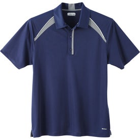 Quinn Short Sleeve Polo Shirt by TRIMARK for Promotion