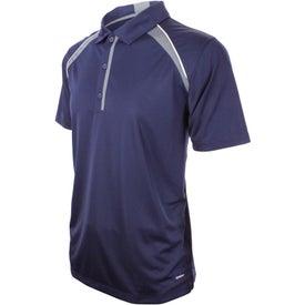 Logo Quinn Short Sleeve Polo Shirt by TRIMARK